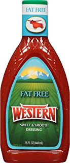 Western Salad Dressing, Fat Free, 15 Ounce