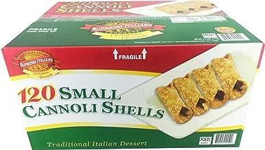 Supremo Italiano: 120 Small Cannoli Shells