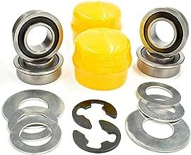 HD Switch Front Wheel Bearings Kit Replaces John Deere L100 L105 L108 L110 L120 L130 Bushing to Bearing Conversion Kit