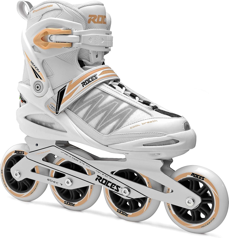 55da5daa7c3 Roces Roces Roces Damen Modell 400818 Gymnasium 2.0 Fitness Inline Skate,  US 6, weiß lachs B07BFJZ7LG Sorgfältig ausgewählte Materialien cd9af2