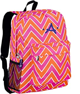 chevron backpack monogrammed