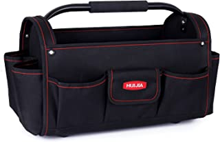 HUIJIA Tool Bags 17 Inch Portable Tool Organizers Multifunctional Heavy Duty Bag Carrier Resistant