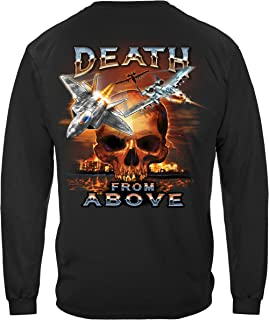 Erazor Bits Death from Above Long Sleeve T Shirt MM2344LS