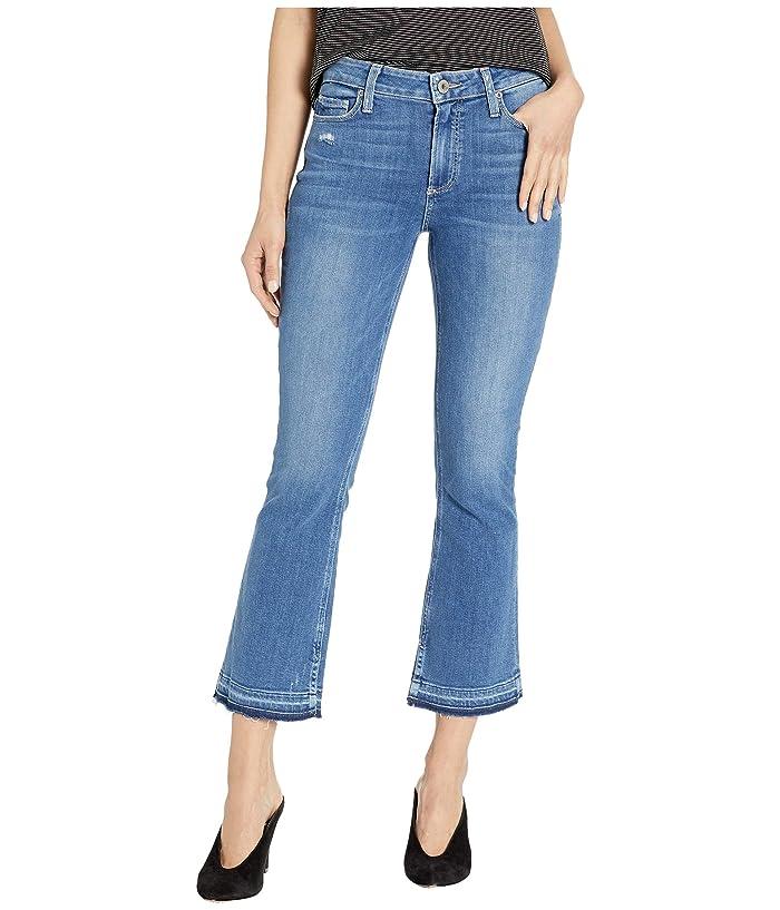Paige Colette w/ Undone Hem and Inseam Slit in Annabella (Annabella) Women's Jeans