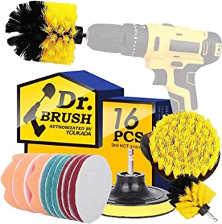 Sponsored Ad - Drill Brush Power Scrubber Brush Cleaning Set 16PCS,Drill Scrub Brushes Kit with Long Attachment,Suitable f...