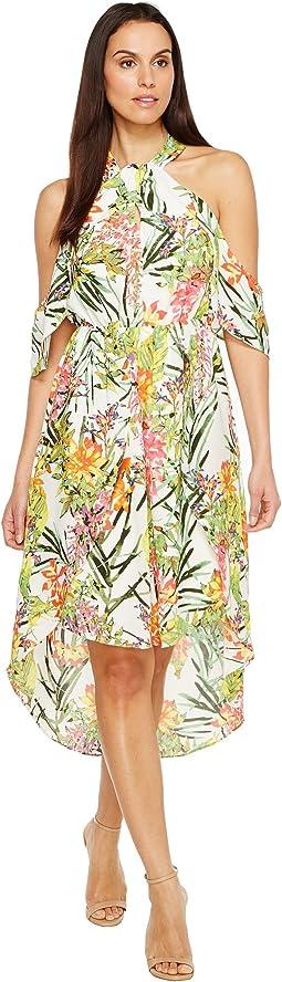 Leanna Woven High-Low Dress