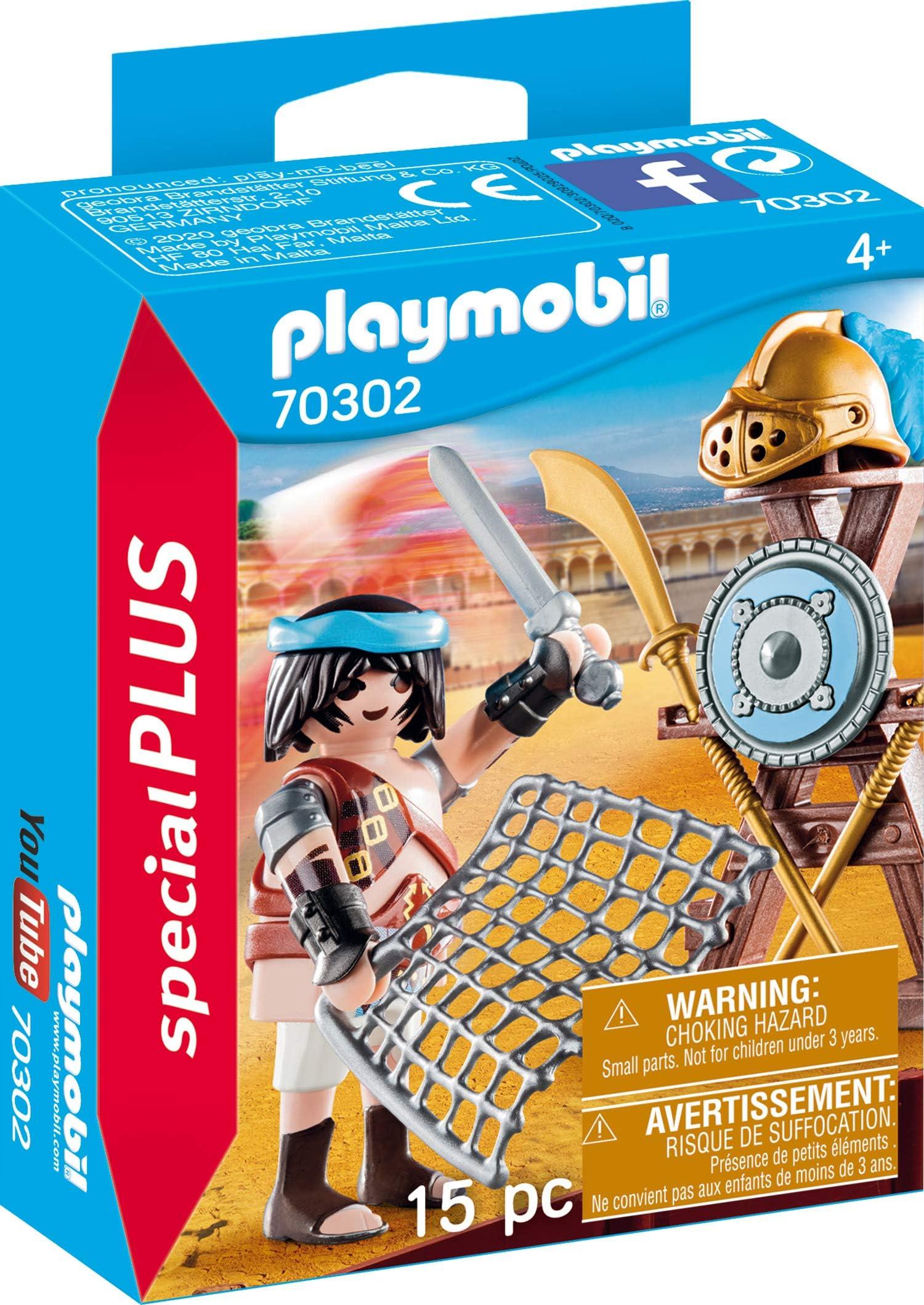 303390 Cuerda gladiador marrón claro 2u playmobil