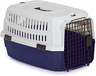 """Guardian Gear Contain-Me Pet Crate, X-Small – Air Travel Approved for Pets Up to 10 Pounds, Crate Size of 18"""" x 12"""" x 9"""""""