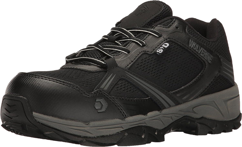 Wolverine Men's Rush ESD Comp Toe Hiker Work Boot