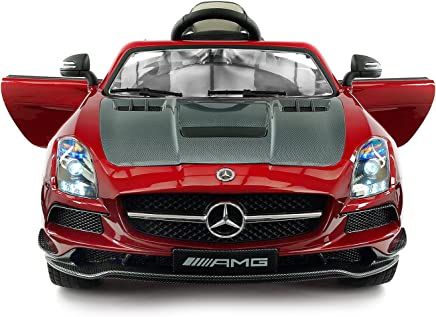 5b5158f12e343 Carbon Red SLS AMG Mercedes Benz Car for Kids