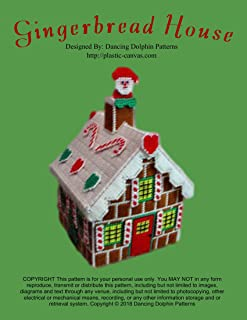 Gingerbread House: Plastic Canvas Pattern