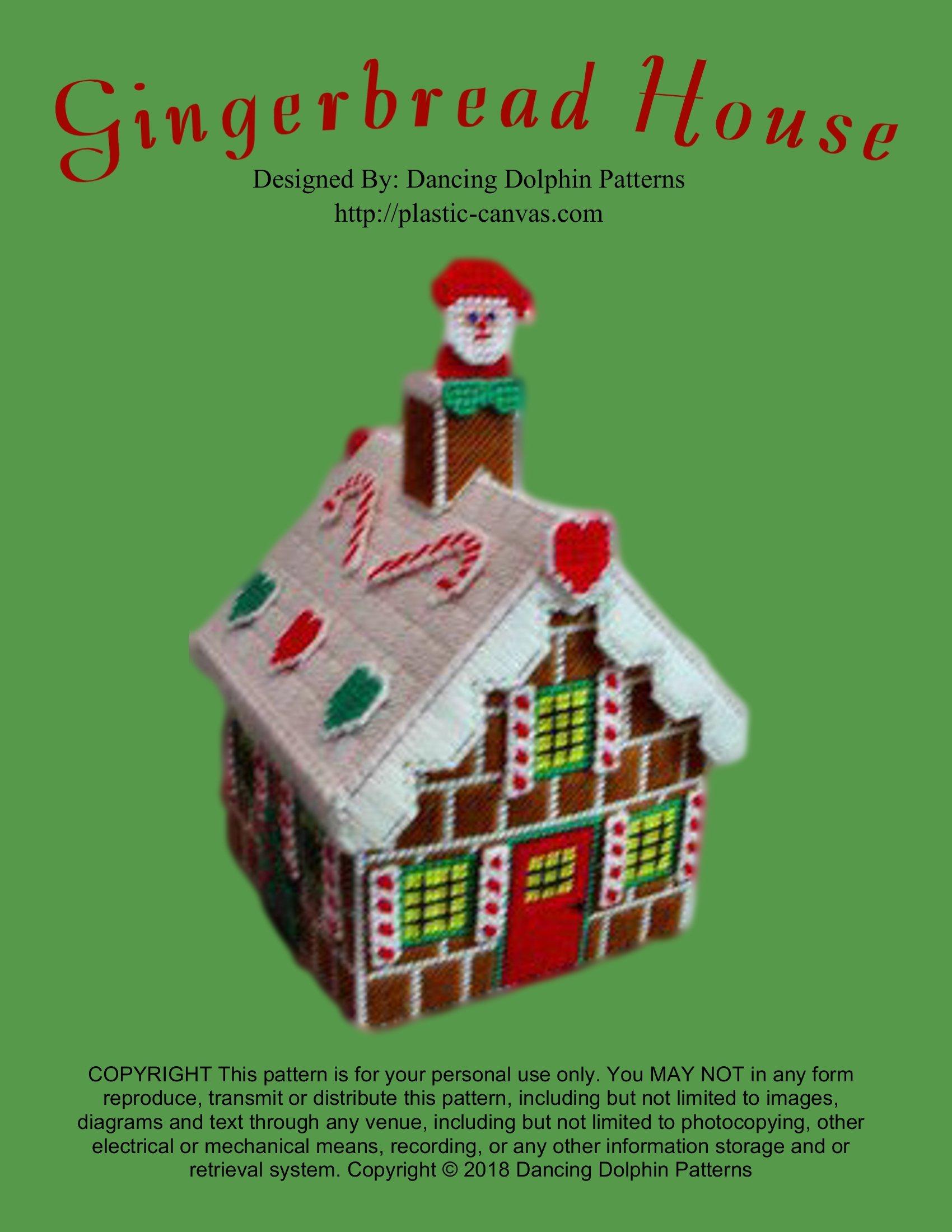Christmas Church School /& Shops crochet pattern booklet NEW Gingerbread Village