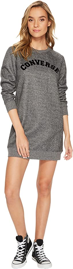 Converse - Long Sleeve Sweatshirt Dress
