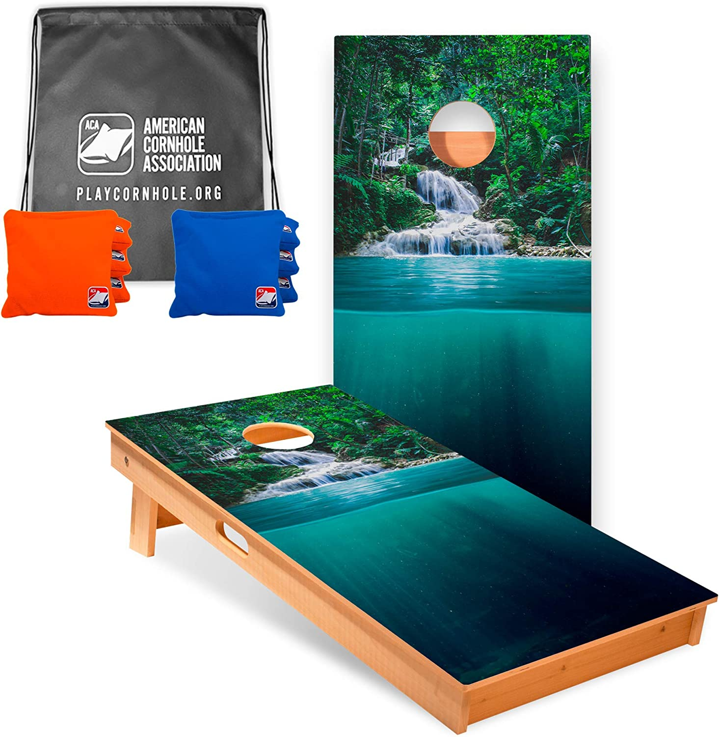 ACA American Excellent Cornhole Association Star Nature Inspired New mail order Professio