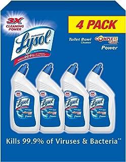 Best lysol toilet bowl cleaner 32 oz 4-count Reviews