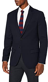 Scotch & Soda Men's Classic Singlbreasted Blazer in Yarn-Dyed Pattern Casual