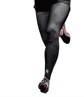 Vital Salveo-Recovery Sports Full Leg Sleeve Thigh Long Knee Support Basketball-Medium(1 Pair)
