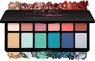 L.A. Girl Fanatic Eyeshadow Palette, Wanderlust, 1 Ounce