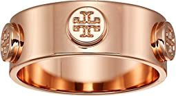 Logo Stud Ring