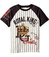 Dolce & Gabbana Kids - Royal King Baseball T-Shirt (Toddler/Little Kids)
