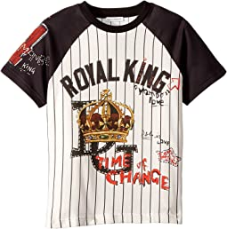 Royal King Baseball T-Shirt (Toddler/Little Kids)