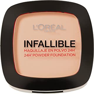 L'Oreal Paris Infallible 24H Compact Powder Foundation - 0.31 oz., 123 Warm Vanilla
