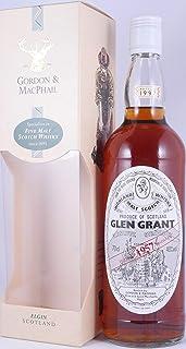 Glen Grant 1957 40 Years Highland Single Malt Scotch Whisky White Screwcap von Gordon & MacPhail 40,0% Vol. - seltene alte Abfüllung eines erstklassigen Single Malt!
