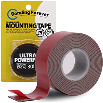 """Bonding Forever Ultra Powerful Double Sided Tape   Foam Tape   Double Sided Adhesive Tape   Mounting Tape   0.045"""" X 1"""" X 60"""" X 1EA: image"""