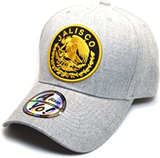 AblessYo Mexico Flag Bandera de México City Curved Baseball Golf Cap AYO6006