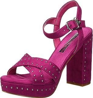 XTI 32056, Zapatos con Tira de Tobillo para Mujer