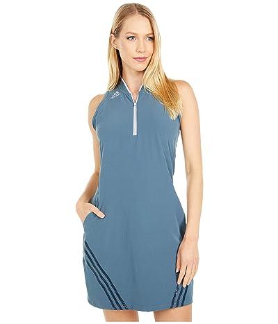 adidas Golf 3-Stripes Sport Dress (Legacy Blue) Women