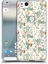 Official Lidiebug Prickly Pear Assorted Designs Soft Gel Case Compatible for Google Pixel 2