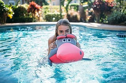 Big Joe Mesh Pool Petz Gray Hippo