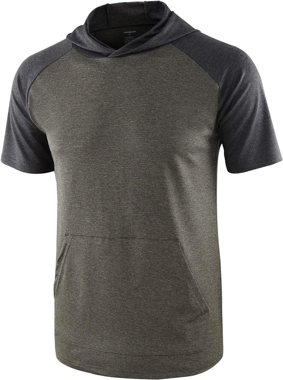 HARBETH Low price Mens Quick Dry 4 Way Tech Ranking TOP18 Stretch Short Raglan Ho Sleeve
