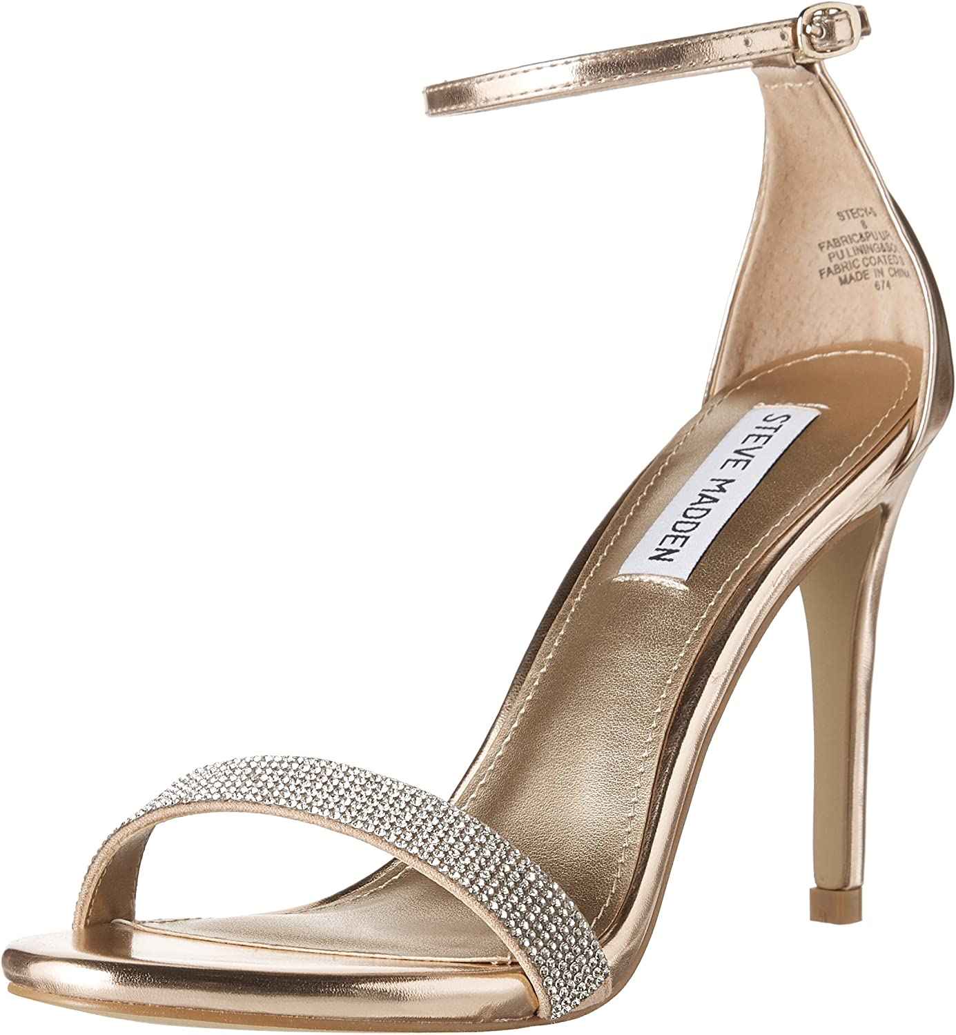 Steve Madden Womens Stecys Heeled Sandals