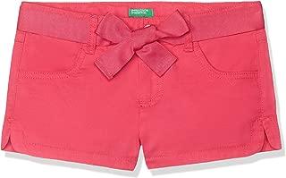 United Colors of Benetton Beli Kemerli Şort Kız çocuk Şort