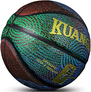 Kuangmi Cool Basketball Personality Street Ball for Men Women Teenager Youth