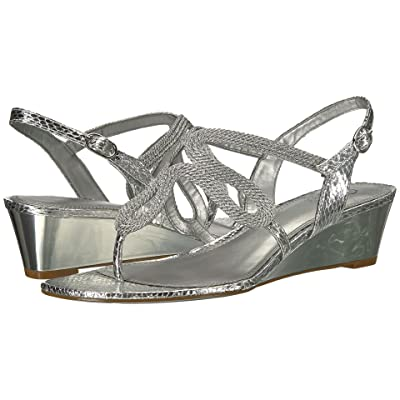 Adrianna Papell Cannes (Silver Metallic Rope) Women