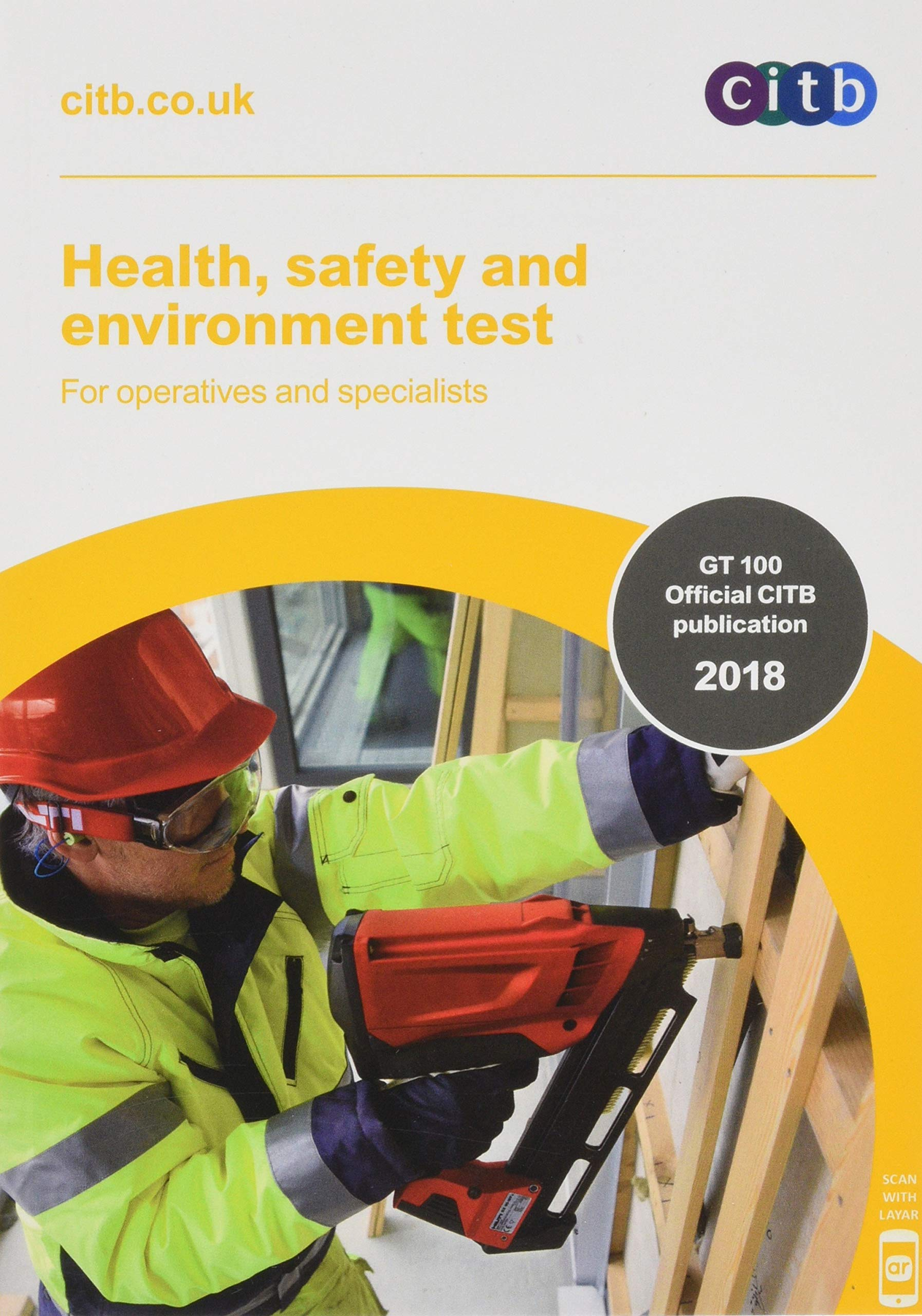 Health, Safety And Environment Test For Operatives And Specialists: GT100/18