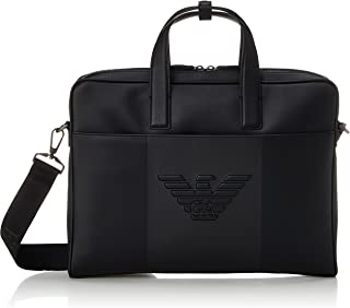 [エンポリオアルマーニ] ビジネスバッグ Y4P120YFE6J メンズ ブラック [並行輸入品]