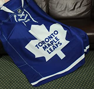 Toronto Maple Leafs NHL Fleece Throw Blanket by Northwest