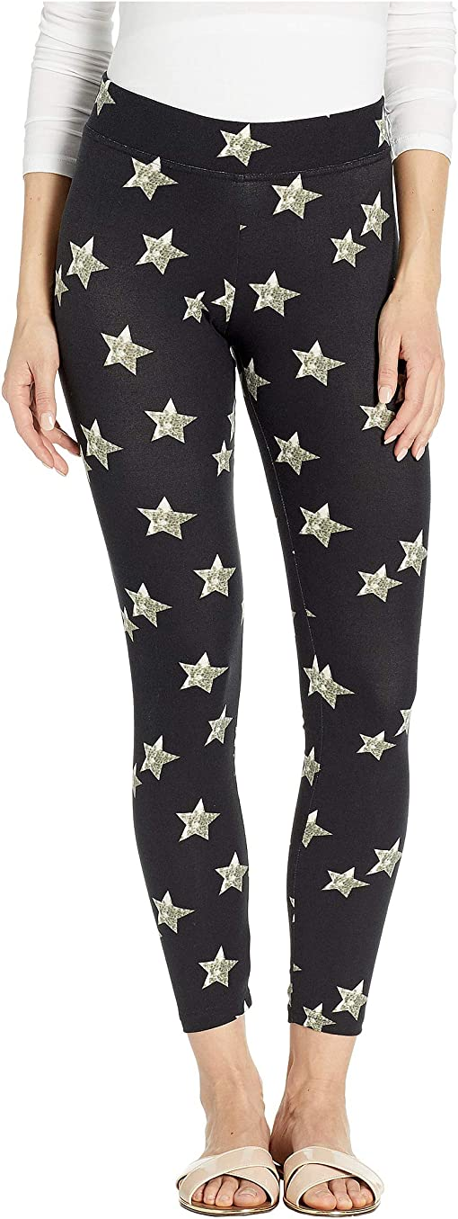 Black Multi/Distressed Star