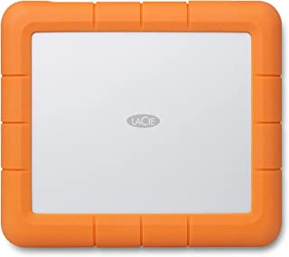 LaCie Rugged Raid Shuttle, 8 TB, Draagbarer Externe Harde Schijf, USB-C, USB 3.0, drop-shock stofbestendig, Voor Mac & PC,...