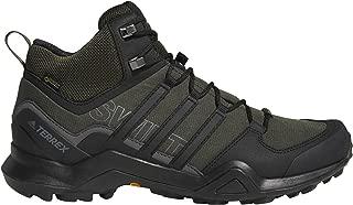 outdoor Terrex Swift R2 Mid GTX Hiking Shoe - Men's Night Cargo/Black/Base Green 9