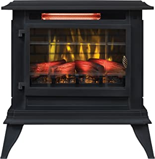 Duraflame Electric DFI-5020-01 Infrared Quartz Fireplace Stove Heater, Black