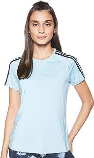 adidas Women's D2M 3S T-Shirt