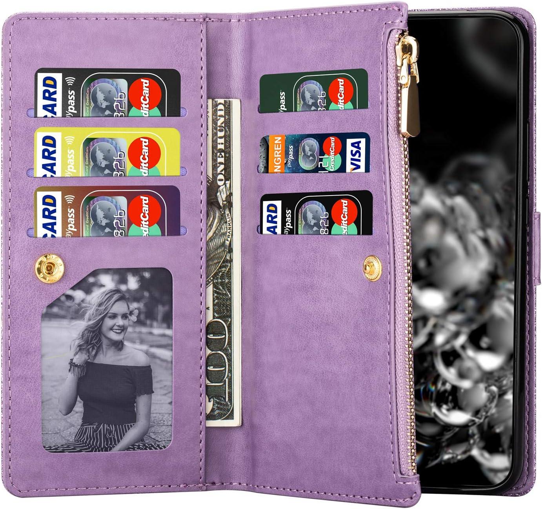 Vepbk f/ür Huawei Y7 2019 H/ülle Handyh/ülle Glitzer Flip Case Leder Brieftasche mit Kartenfach Magnet Handschlaufe Geldb/örse Tasche Wallet Klapph/ülle Handytasche Cover f/ür Huawei Y7 2019,Blau