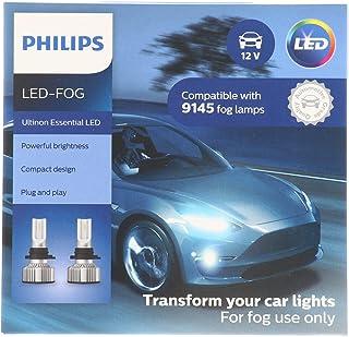 Philips Automotive Lighting 9145 Ultinon Essential LED Fog Lights, 2 Pack