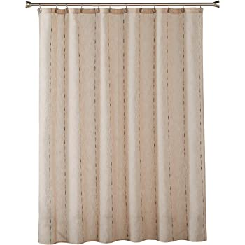 SKL Home by Saturday Knight Ltd. Linen Space Dye Shower Curtain, Natural