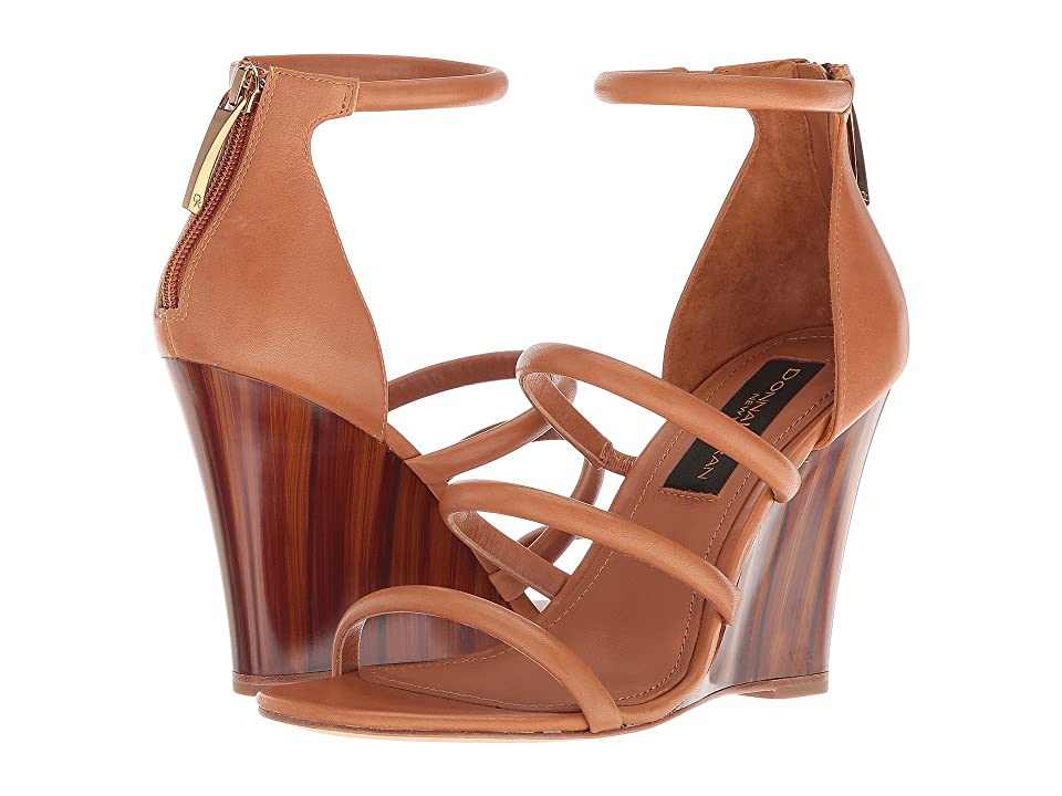 Donna Karan Rachel Multi Strap (Cognac) Women